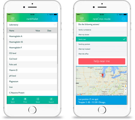SCD mobile app