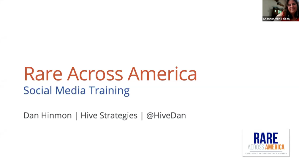 Rare Across America Social Media Training Webinar
