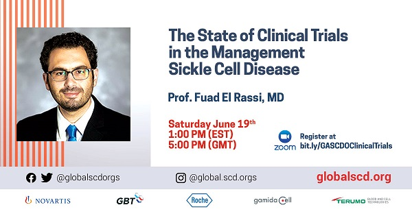 The State Of Clinical Trials In The Management Of Sickle Cell Disease – Webinar